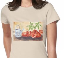 A Shelf in my Garden Shed Womens Fitted T-Shirt