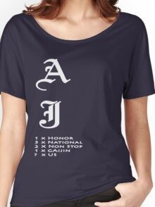 AJ the World Champ Women's Relaxed Fit T-Shirt