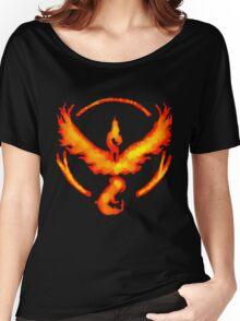 Team Valor- Pokemon Go Women's Relaxed Fit T-Shirt