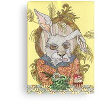 Truly Deeply Mad - The March Hare (Coloured Version) Canvas Print