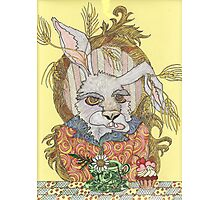 Truly Deeply Mad - The March Hare (Coloured Version) Photographic Print