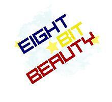 Eight Bit Beauty Photographic Print