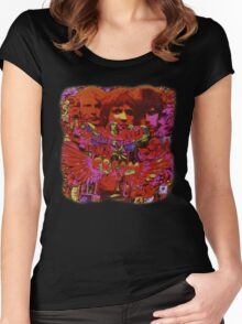 Cream Disraeli Gears Women's Fitted Scoop T-Shirt