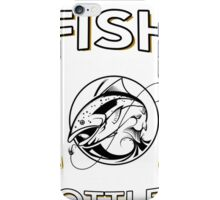 FISH FROM WATER AND BEER FROM BOTTLES iPhone Case/Skin