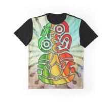 RAINBOW RASTA TIKI Graphic T-Shirt