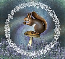 Cosmic Squirrel  by historicnature