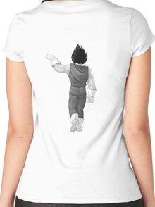 Vegeta Fist Bump Women's Fitted Scoop T-Shirt