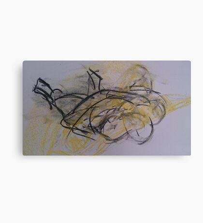 life drawing 03.07.14 Canvas Print