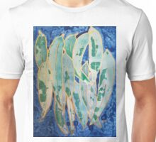 Green and Gold Abstract Unisex T-Shirt