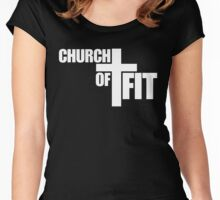 Church of Cross Fit Women's Fitted Scoop T-Shirt