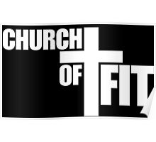 Church of Cross Fit Poster