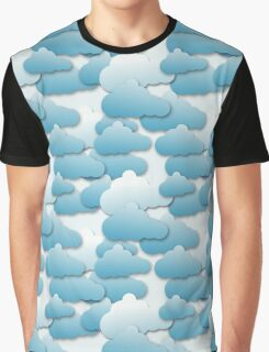 Layered Clouds Graphic T-Shirt