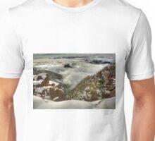 Fresh snowfall, Mount Buffalo Unisex T-Shirt