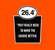 26.4 - Mark the Course Unisex T-Shirt