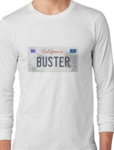 License Plate - BUSTER Long Sleeve T-Shirt
