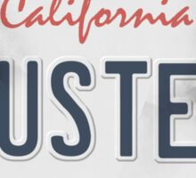 License Plate - BUSTER Sticker
