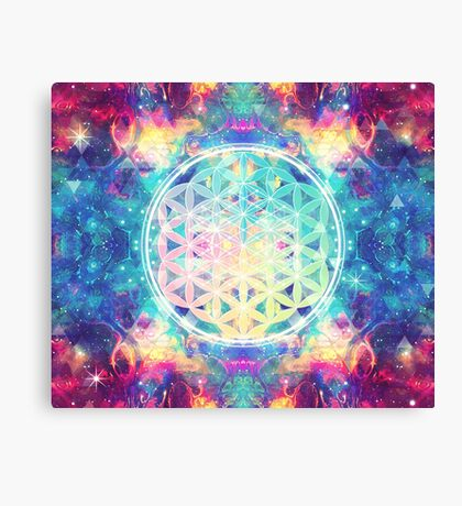 Flower Of Life 03 Canvas Print
