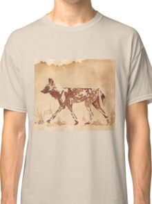Painted Dog - African Wild Dog Classic T-Shirt