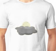 Sweet Night Moon and Cloud Unisex T-Shirt