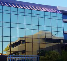 Reflections In A Perth Building by lezvee