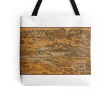 Map Of Peking 1888 Tote Bag