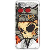 Hotrod machine iPhone Case/Skin