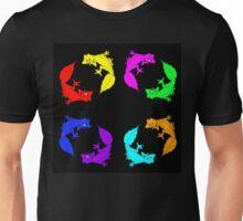 Rainbow Satanic Leaftail Geckos Unisex T-Shirt