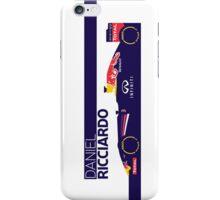 2014 Formula 1 RedBull Daniel Ricciardo Race Car iPhone Case/Skin