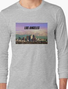 Los Angeles Skyline Long Sleeve T-Shirt