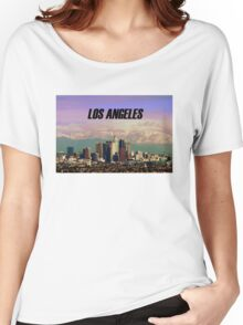 Los Angeles Skyline Women's Relaxed Fit T-Shirt