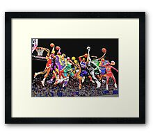GOT DUNKS? Framed Print