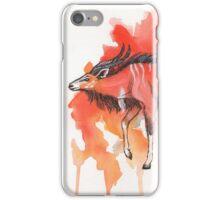 The Wandering Antelope iPhone Case/Skin