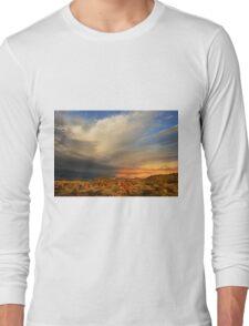 outback sky at sunrise Long Sleeve T-Shirt