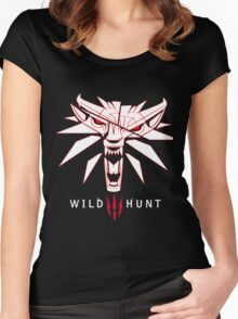 Wild Hunt Witcher Women's Fitted Scoop T-Shirt