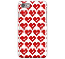 Pixel Heart 8 Bit Love iPhone Case/Skin