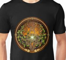 Sacred Celtic Trees - Vine Unisex T-Shirt
