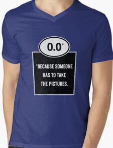 0.0 - Take the Pictures Mens V-Neck T-Shirt