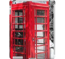 Red Telephone box iPad Case/Skin