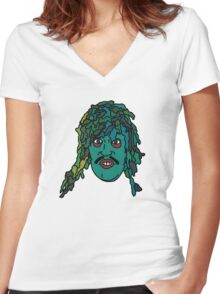 The Mighty Boosh, Old Gregg Women's Fitted V-Neck T-Shirt