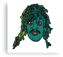 The Mighty Boosh, Old Gregg Canvas Print