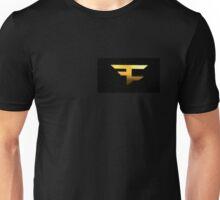 Golden FaZe Logo Unisex T-Shirt