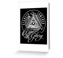 Low & Glory Greeting Card
