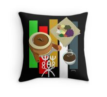 Herbal Medicine (traditional Chinese medicine) Throw Pillow