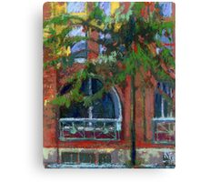 Red House in Gastown, Vancouver Canvas Print