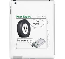 Cartoon : Tired and Exhausted iPad Case/Skin
