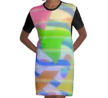 Eighties Gone Wrong Graphic T-Shirt Dress