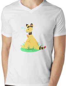 Ampharos Mens V-Neck T-Shirt