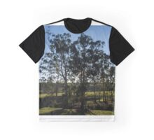 Contre Jour from Strathewan Rd Victoria Australia 20160613 7125 Graphic T-Shirt