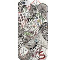 Swirls and Curls Abstract iPhone Case/Skin