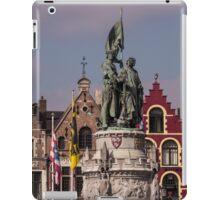 Postcard from Belgium - Travel Photography iPad Case/Skin